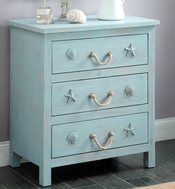 Beautiful coastal, beach and nautical theme cabinets and chests: http://www.completely-coastal.com/2016/08/coastal-cabinets-and-chests.html Statement pieces for any room!