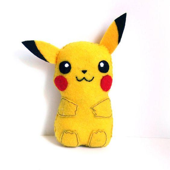 Super süß Pikachu fühlte plushie von yael360 auf Etsy