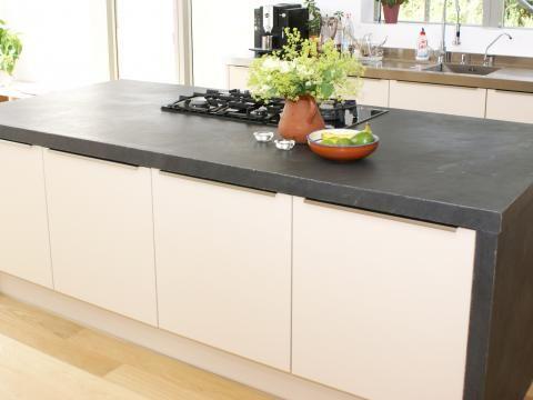Arbeitsplatten aus Schiefer in der Küche Wand \ Beet neue - alno küchen arbeitsplatten