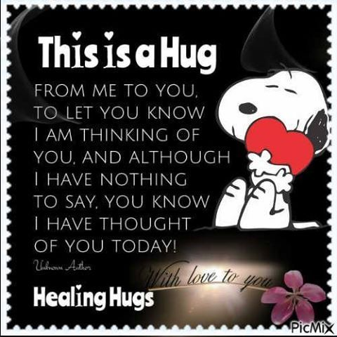 This Is A Hug From Me To You To Let You Know I Was Thinking Of You