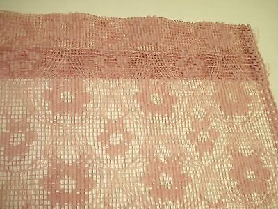 LACE-CROCHET-CURTAIN-PANEL-TEXTURED-SHEER-SEASHELL-ROSE-39-x-70 ...