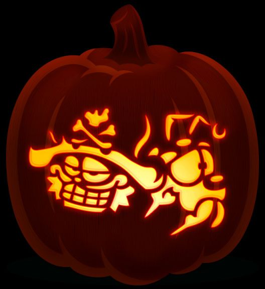 Garfield Odie Pumpkin Carving Patterns Free Pumpkin Carving Pumpkin Pattern