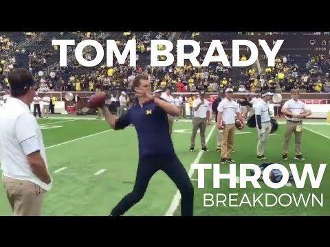 37 Tom Brady Throwing Mechanics Performance Labs Youtube Football Workouts Tom Brady Football Training