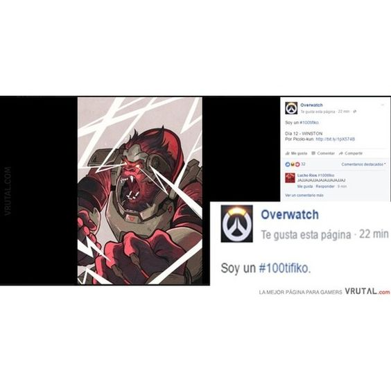Estos de Blizzard... #Blizzard #Winston #Overwatch #baiabaia #tenemozunberdadero100tifikoporaki #humor #vrutal #memondo by vrutalgames