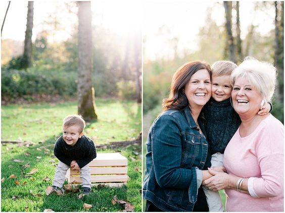 Chilliwack Fall Family Photos – Photos with Grandma – mhouser photography - Vancouver Wedding & Family Photographer