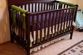 Later Gator Crafts: Ruffled Crib Skirt {BOYS}