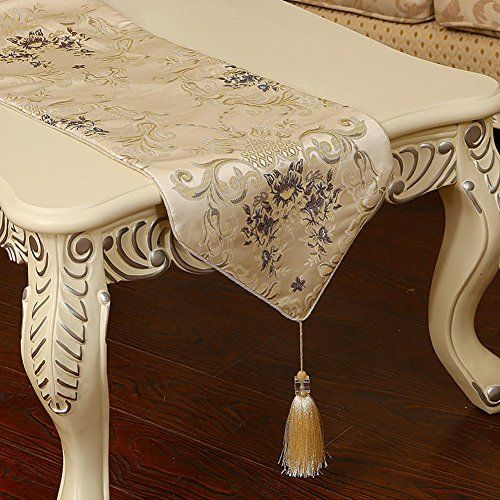 European Style Stylish Table Runner Luxury Dining Table Coffee