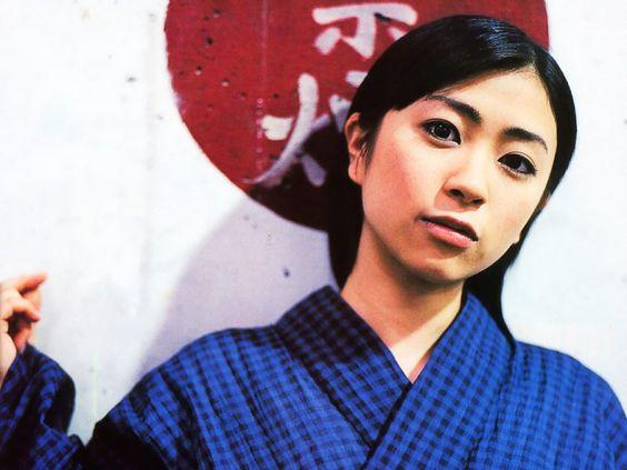 和服を着た宇多田ヒカル