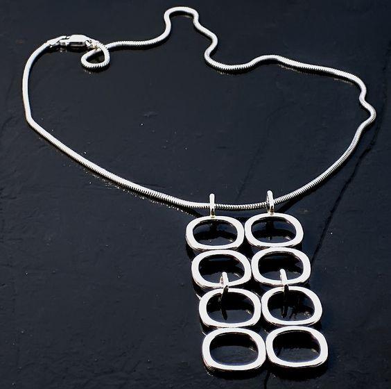 Mid century quad pendant