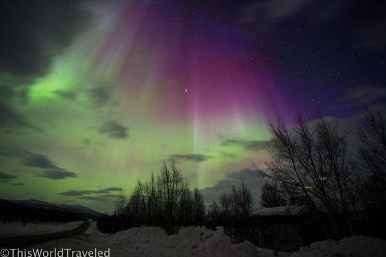 Photographing the Northern Lights in Norway