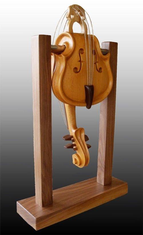 05-Cloak-Room-Philippe-Guillerm-Musical-Instruments-Sculptures-French-Artist-Musician-Sculptor-Painter-Furniture-Maker-www-designstack-co