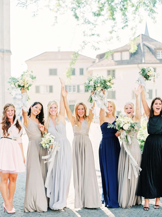 Photography: Peaches And Mint - peachesandmint.com Bridesmaids' Dresses: Twobirds Bridesmaid - twobirdsbridesmaid.com Floral Design: Flowerup - flowerup.at/   Read More on SMP: http://stylemepretty.com/vault/gallery/37707