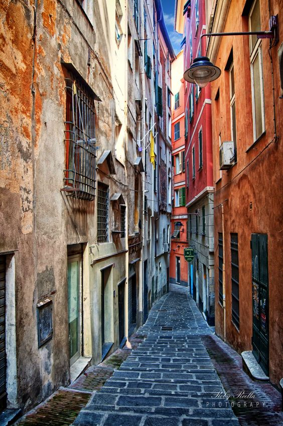 Genova. Coolest and most underrated city in Italy...