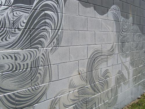 Fantastic Cinder Block Wall Painting My Style Pinterest - Cinder block wall