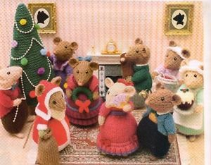 Knitting Patterns For Christmas Mice : Pinterest   The world s catalog of ideas