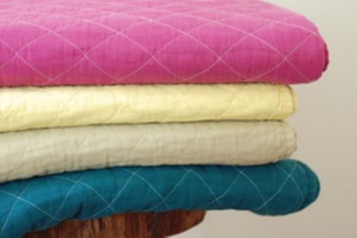 Utility Canvas :: Quilted Throw Blanket - UTIL-HTHROW :: Lake Boutique