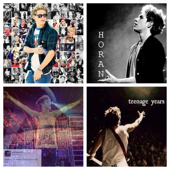 "Happy 20th Birthday Niall:) you deserve all the success. Seems like yesterday you were auditioning for the X-Factor ""hoping it all works out"". It did work out in the end:)"