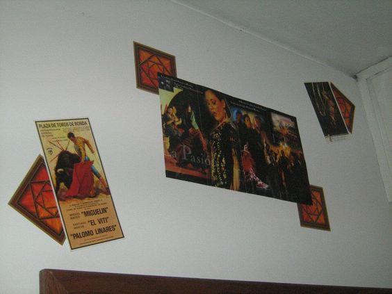 Asi decoraba el cuarto de una de mis abuelas en Montevideo