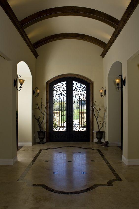 Vaulted Ceiling Foyer Light : Foyer with barrel ceiling details pinterest foyers
