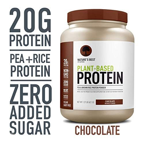 Nature S Best Plant Based Vegan Protein Powder By Isopure Https Www Amazon Plant Based Protein Sources Keto Friendly Protein Powder Vegan Protein Sources