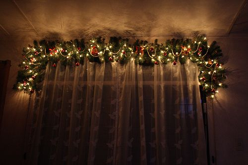 Decorating Curtain Poles thisChristmas - Christmas Decorating -