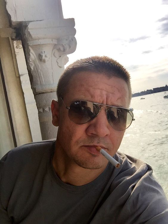 Jeremy Renner in Venice, Italy August 31, 2016
