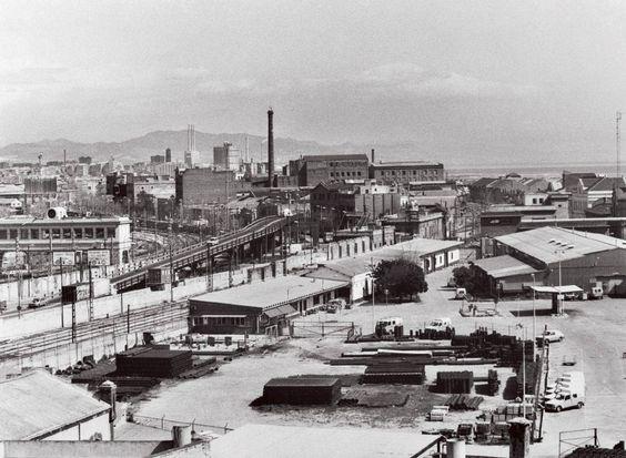 """barrio de Icaria, conocido como el """"Manchester catalán"""" sufrío una completa remodelación para ubicar la villa olímpica"""