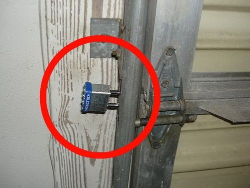 4 Ways To Secure A Garage Door From The Inside Garage Doors