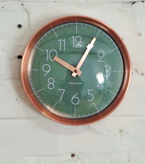 Jungles Wall Clocks And Copper On Pinterest