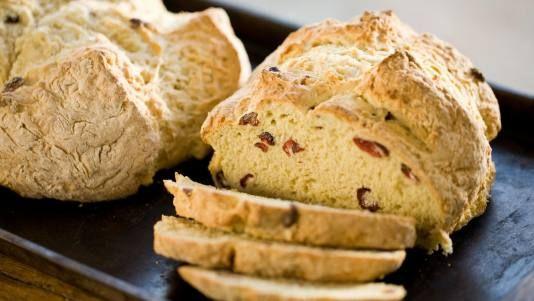 Irish soda bread for St. Patty's.  Best bread, ever!