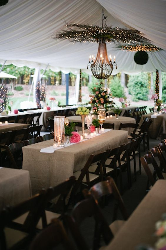 Table decor chic. Photographed by JJ Horton Photography