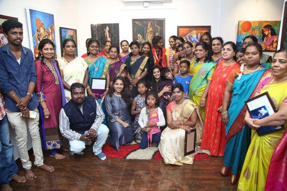 Actress Haripriya Inaugurate Women Power – Art Exhibition 2020