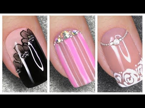 Ongles Courts Art 2020 Idees De Decoration Pour Ongles Youtube In 2020 New Nail Art Nail Art Designs Nails