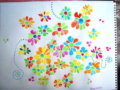 Beautiful: Watercolor Flowers.