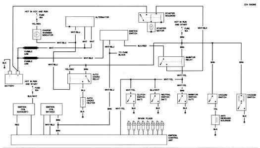 Datsun 720 L18 Wiring Diagram Google Search Diagram Nissan Electrical Diagram