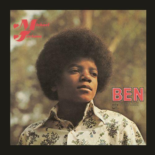Michael Jackson – Ben (single cover art)