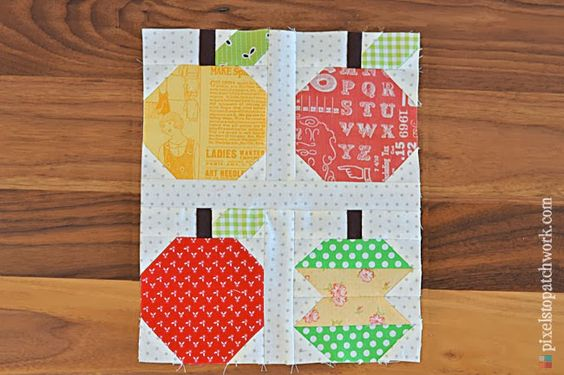 from Pixels to Patchwork: Quilty Fun Blocks 1-7