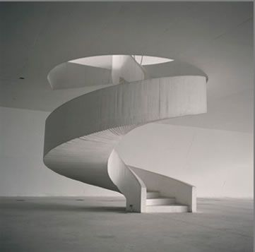 Theater, Niteroi, Brazil, Oscar Niemeyer 1999, photo by Lynn Davis