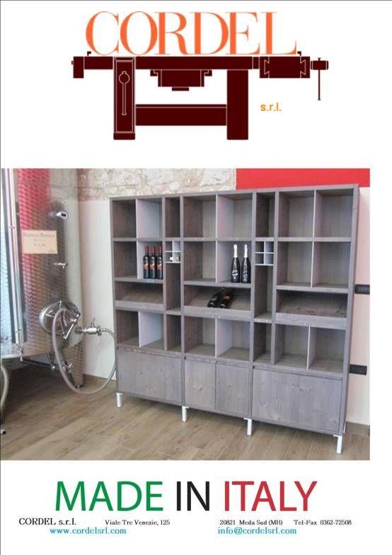 parete per vini : Cantina di CORDEL s.r.l.