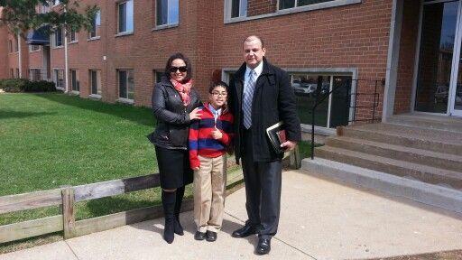 Predicacion en Falls Church VA 05 Abril 2014 (Yesenia-Kevin-Jose Manuel)