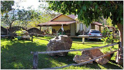 Chalé Hotel Fazenda em Goiás Velho