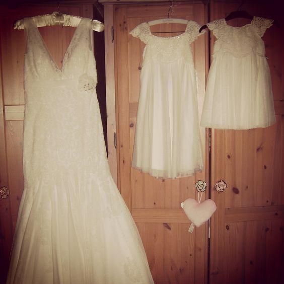 Wedding day with my 2 girls xx