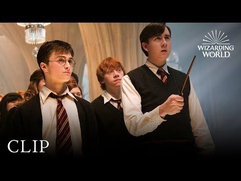 Dumbledore S Army Harry Potter And The Order Of The Phoenix Youtube Harry Potter English Short Film Video Harry Potter