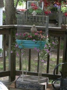 vogelkooi=plantenbak