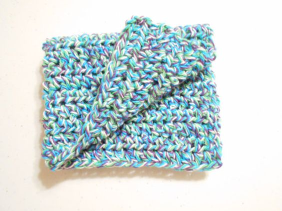 Crochet Dish Cloths/Cotton Dish Cloth/ Crochet-Handcrafted/ 100% 4-Ply Cotton/ Long Lasting/1 Large Durable Crochet Cotton Dish Cloth