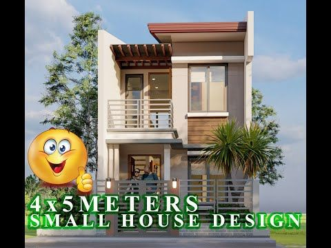 4x5 Meters Small House Design Ideas 20sq M 2 Bedrooms Youtube Small House Design Plans Small House Design Simple Small House Design