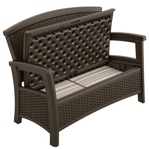 Prime Millard Wood Bench In 2019 Patio Storage Bench Garden Squirreltailoven Fun Painted Chair Ideas Images Squirreltailovenorg