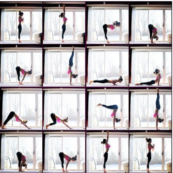 amazing sun salutation flow :)