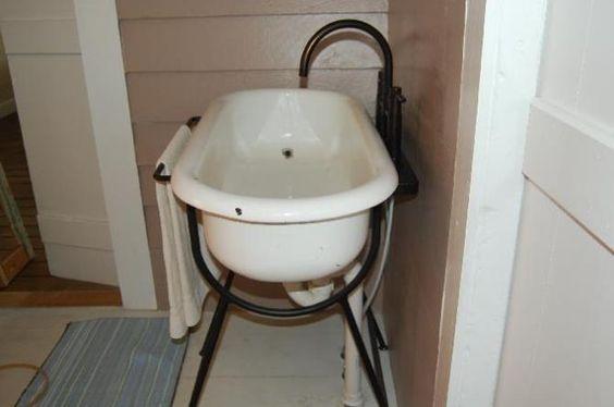freestanding kitchen sink