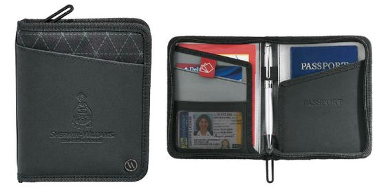 Elleven Traverse RFID Passport Wallet from HotRef